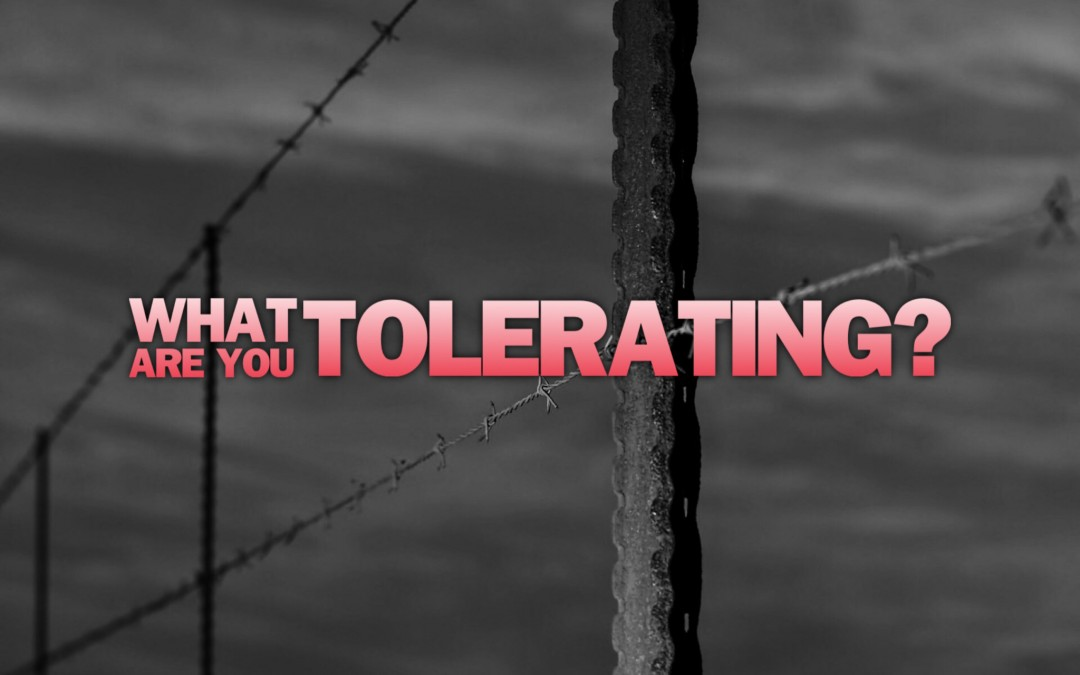 Today's Lie: You Have to Tolerate Things You Don't Like